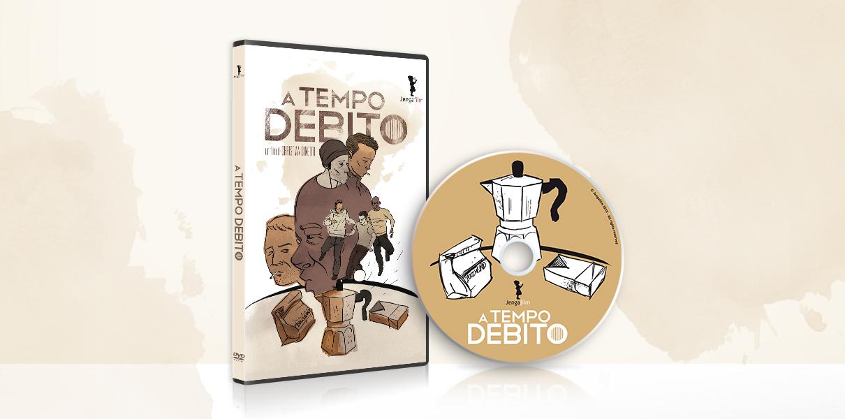 """DVD case e grafica del film """"A tempo debito"""" di Christian Cinetto"""